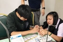 The Biomaterial team assisted the Taiwan branch of association of Asia reconstructive dentistry with implant hands-on course