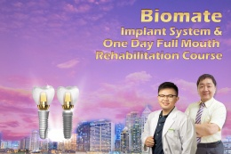 Implant system & one day full mouth rehabilitation surgery training course in Philippines