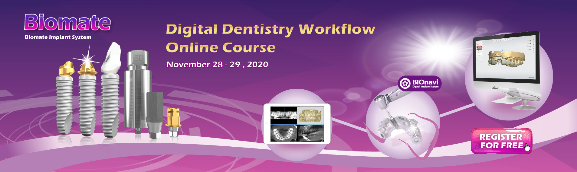 Biomate Implant System: Digital Dentistry Workflow Online Course