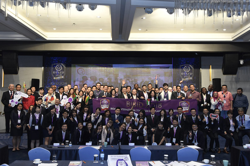 The first Biomate Internation Symposium of Implant Dentistry has came to an end successfully